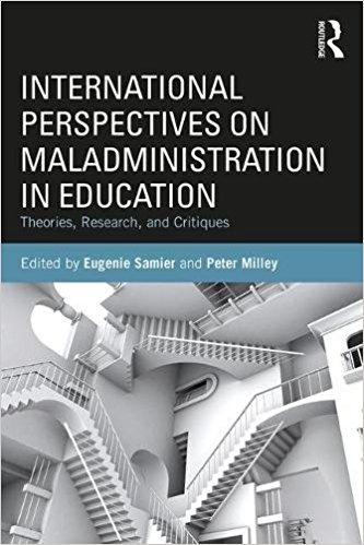 Couverture: International perspectives on maladministration in education: Theories, research and critiques